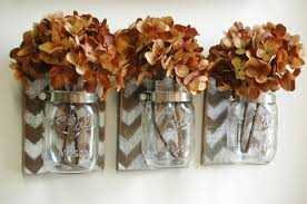 shabby chic deco chevron wall decor mason jar farmhouse decor fixer upper