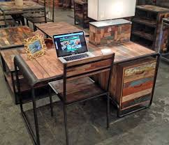 Retro Modern Desk A Retro Style Mid Century Modern Desk With Three Drawers Made From
