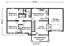 3 bedroom floor plans with garage independence by excel modular homes ranch floorplan