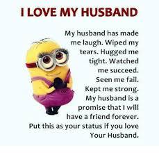 I Love My Husband Meme - i love my husband my husband has made me laugh wiped my tears hugged