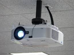 Retractable Projector Ceiling Mount by Mounting Your Projector On The Ceiling