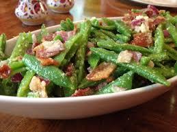 sugar snap pea salad with pancetta and pecorino serving the seasons