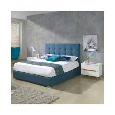 Turquoise Bed Frame Belen Fabric Bedframe Bob The Bed