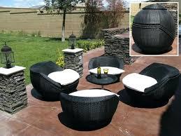 Costco Patio Furniture by Outdoor Wicker Furniture Sets Costco Resin Wicker Outdoor Patio