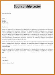 sponsorship thank you letter sample 7 sponsorship invoice