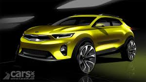kia stonic suv kia u0027s take on the hyundai kona previewed ahead