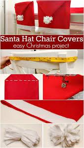 santa chair covers santa hat chair covers inspiration hoosier