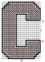 plastic canvas alphabet patterns letter patterns cuadrados