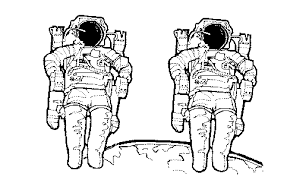 space coloring book home page