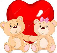 teddy bears in love u2014 stock vector dazdraperma 39212393