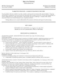 Resume English Example by Cover Letter Best Marketing Resume Examples Best Marketing