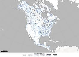 world rivers map shapefile river width gis data created from 1 756 landsat images gis lounge