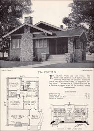 Biltmore Floor Plan 1928 Home Builders Catalog The Cactus Bungalows Arts And
