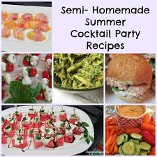 Foods For Cocktail Party - easy summer cocktail party ideas