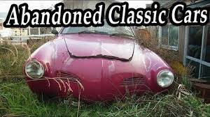 auto junkyard germany old abandoned classic cars graveyard rare abandoned vehicles