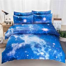 Stars Duvet Cover Cool Bedding Sets With Blue Star Print College Bedding With 3d