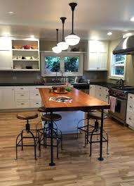 Maple Kitchen Island by Counter Tops Urban Lumber Company