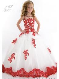 colorful floor length flower girls dress wed direct