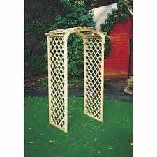 Trellis Arches Garden Fencescape Curved Trellis Archway 2000mm X 1000mm Mitre 10