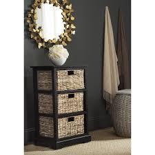 storage unit with wicker baskets wicker basket storage units