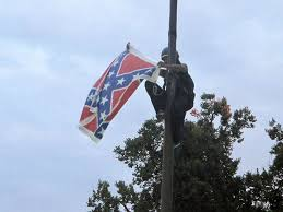 Flag Confederate States Of America Battling Policies Taking Down The Confederate Flag Is