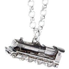 solid silver necklace jewelry images The hogwarts express train harry potter solid sterling 925 jpg