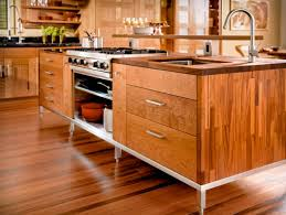 stainless steel kitchen island with butcher block top berkeley mills madera kitchen island cherry with stainless steel