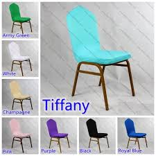 party chair covers lycra spandex half chair covers for wedding chair decoration lycra
