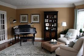 How To Arrange Small Living Room by Chic On A Shoestring Decorating Grand Piano Living Room