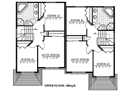 duplex floor plans for narrow lots duplex for narrow lot 90140pd architectural designs house plans