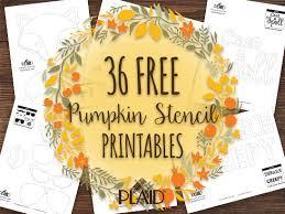36 free pumpkin stencil template printables plaid online