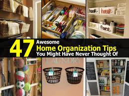 47 awesome home organization tips you might have never thought of
