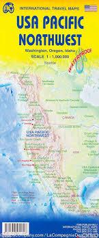 map usa oregon map of usa pacific northwest washington oregon idaho itm