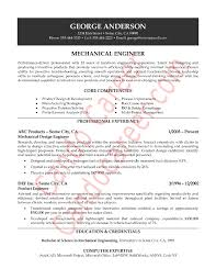 latest resume model mechanical engineer resume sample http topresume info