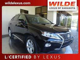 lexus of sarasota used car of the week certified pre owned 2015 lexus rx 350