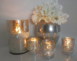 Wedding Candle Holders Centerpieces by Rhinestones U0026 Rustic Wedding Candle Holders And By Eebdesigns