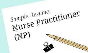 Sample Resume Rn by Nurse Practitioner Sample Resume For Job Seekers Melnic