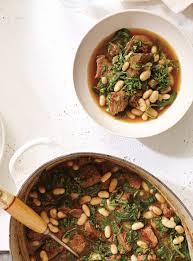 ricardo cuisine mijoteuse recette de ricardo de boeuf mijoté aux épinards et aux haricots