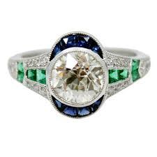 art deco engagement rings u2014 art deco style