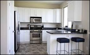 idea kitchen kitchen l shaped kitchen designs with breakfast bar black chair