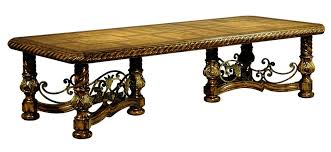 old world dining room tables segovia rectangular dining table marge carson