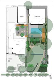pool and garden house plan unique 572 siteplan asla professional
