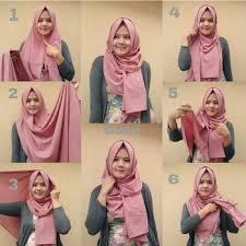 tutorial hijab pashmina kaos yang simple blogger 28