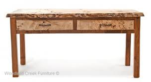 Rustic Sofa Table by Barnwood Sideboards U0026 Sofa Tables Farm Mountain Furniture Décor