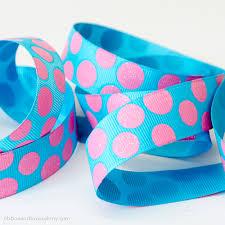paw print ribbon polka dot paw print ribbon ribbon and bows oh my