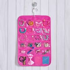 online cheap 6 layer jewelry ornaments storage bag door wall