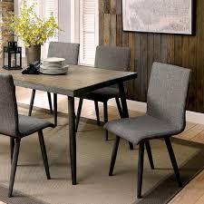 vilhelm modern style 7 piece dining table set