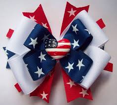 fourth of july hair bows 147 best z fourth of july bow images on hairbows