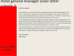 cover letter for hospitality cover letter hospitality sample