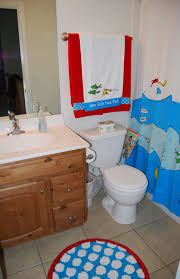 Children S Bathroom Decor by Bathroom Chic Bathrooms Look Using Rounded Mirrors And Blue